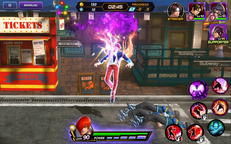 the-king-of-fighters-allstar-apk-mod-for-android-game