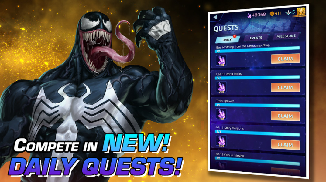 marvel-puzzle-quest-mod-apk-android-game